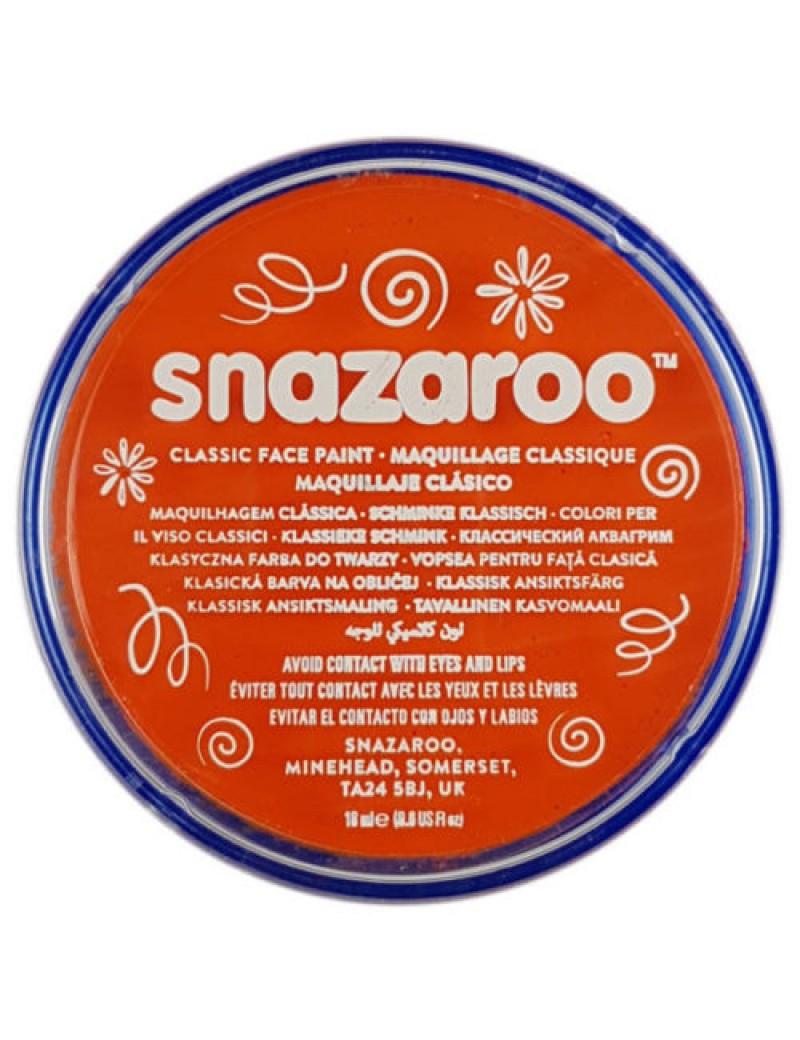 Snazaroo Classic Face Paint Orange 18ml