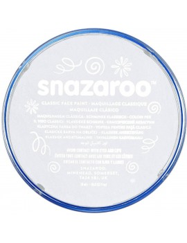 Snazaroo Classic Face Paint White 18ml
