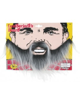 Lumberjack Beard Grey