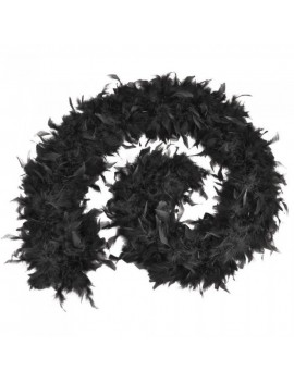 Feather Boa Black 1.8 m Stylex Party ST4865
