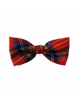 Tartan Red Stewart Bow Tie