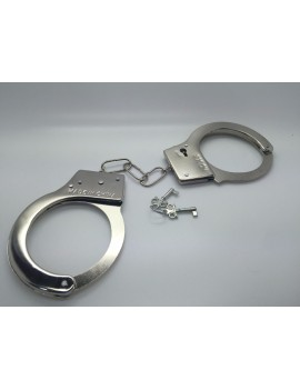 Police Metal Handcuffs With Keys