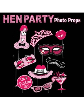 Photo Booth Hen Party Props ST0725