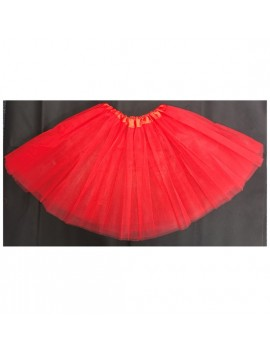 Tutu Net Ra-Ra Skirt Red