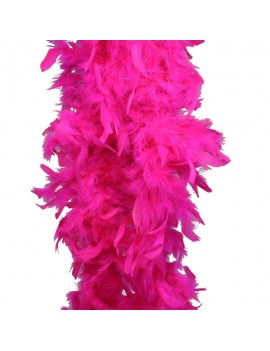 Feather Boa Neon Hot Pink