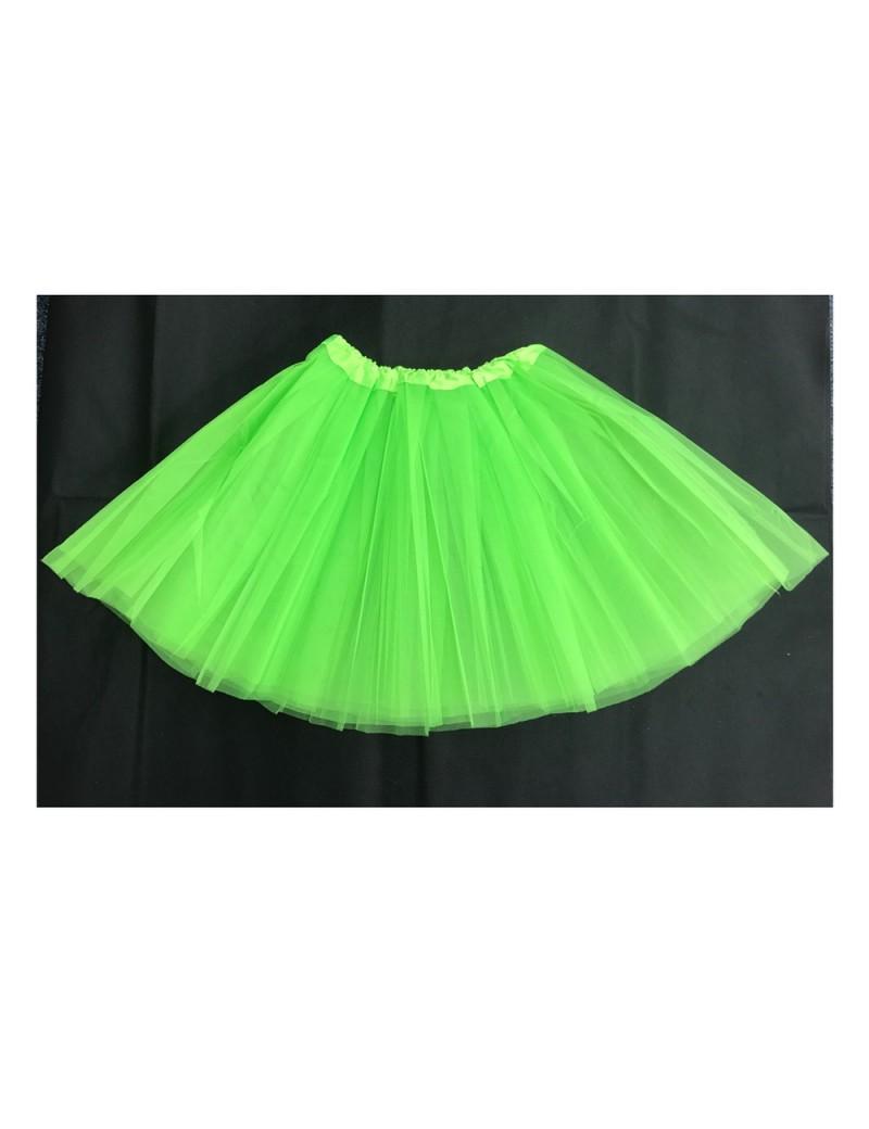 Tutu Net Ra-Ra Skirt Neon Green