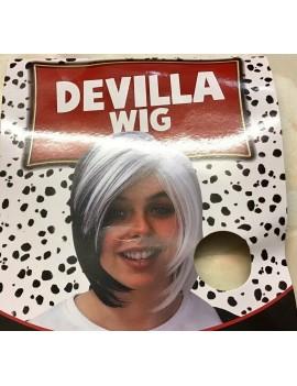 Cruella Devilla Wig
