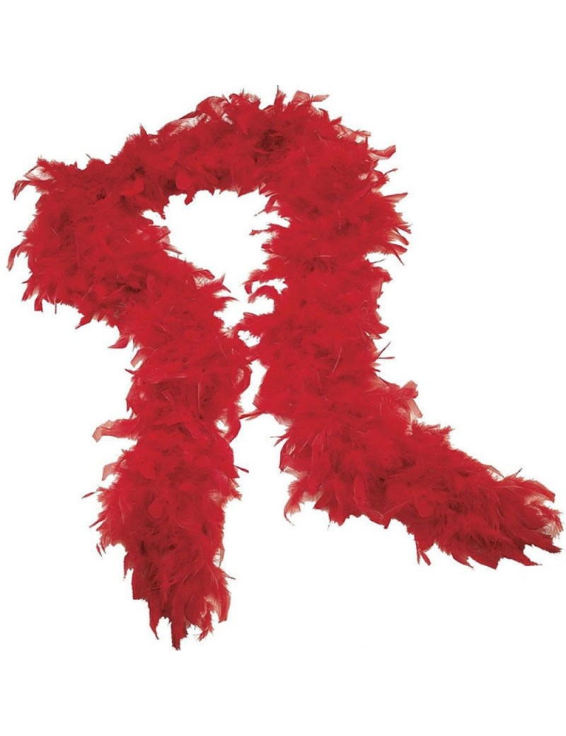 Feather Boa Red Stylex Party ST4933
