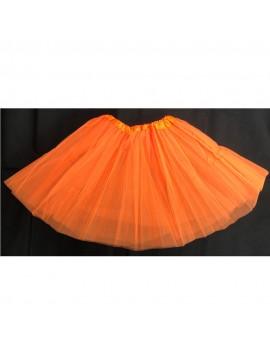 Tutu Net Ra-Ra Skirt Neon Orange
