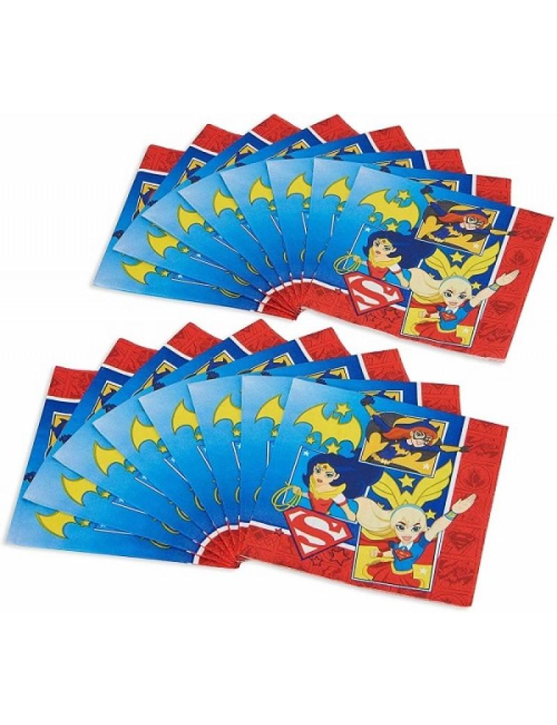 DC Super Hero Girls Paper Napkins