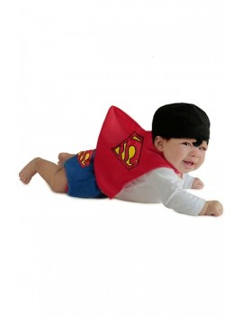 Superman Newborn Baby Costume