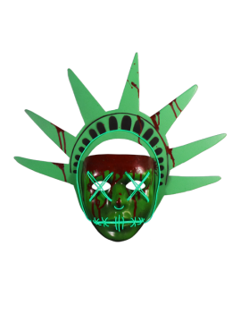 The Purge Election Year Lady Liberty Light Up LED Mask