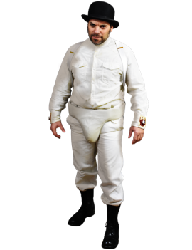 A Clockwork Orange Droogs Alex Adult Costume Trick Or Treat Studios DRWB100