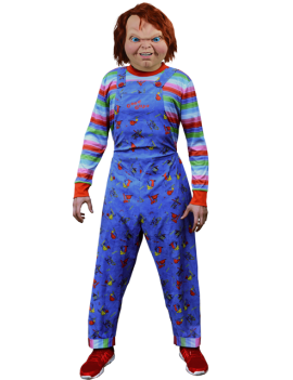 Childs Play 2 Adult Good Guys Deluxe Chucky Costume Trick Or Treat Studios GZUS100