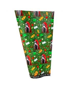Krampus Seasons Greetings Wrapping Paper