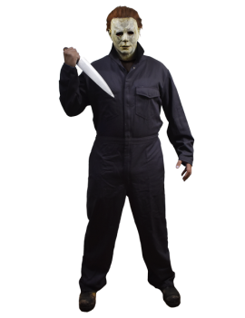Halloween 2018 Michael Myers Adult Coveralls