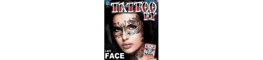 Facial Tattoos XL