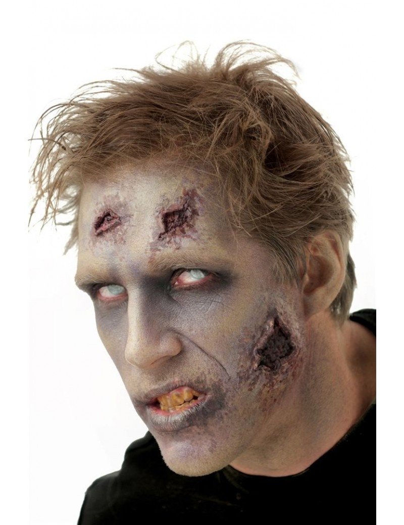 Woochie Zombie Night Stalker Latex Prosthetic Wounds
