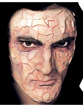 Woochie Shattered Foam Latex Prosthetic Mask FO024