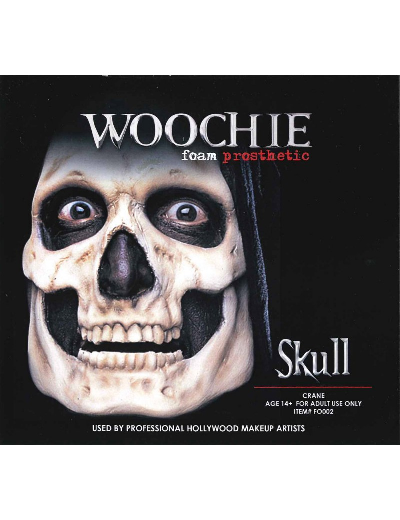 Woochie Skull Foam Latex Prosthetic Mask FO002