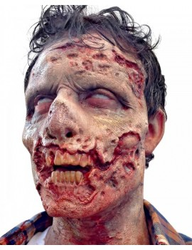 Woochie Stage 3 Zombie Foam Latex Prosthetic Mask FO079
