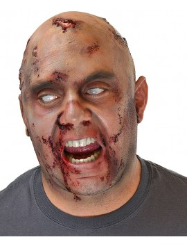 Woochie Bald Cap Zombie Latex Prosthetic WO703