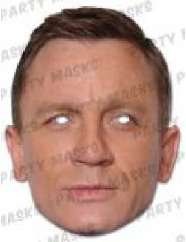 007 James Bond Daniel Craig Mask Mask-arade