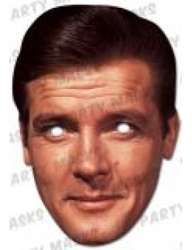 007 James Bond Roger Moore Mask