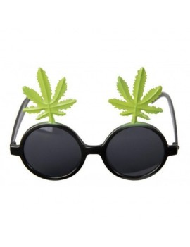 Glasses Cannabis Plant Leaves Folat FO-21640