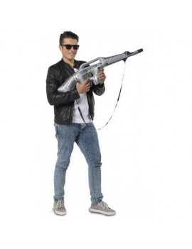 Inflatable Terminator Machine Gun