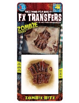 Tinsley Zombie bite FX Transfers Tinsley Transfers FXTS-702