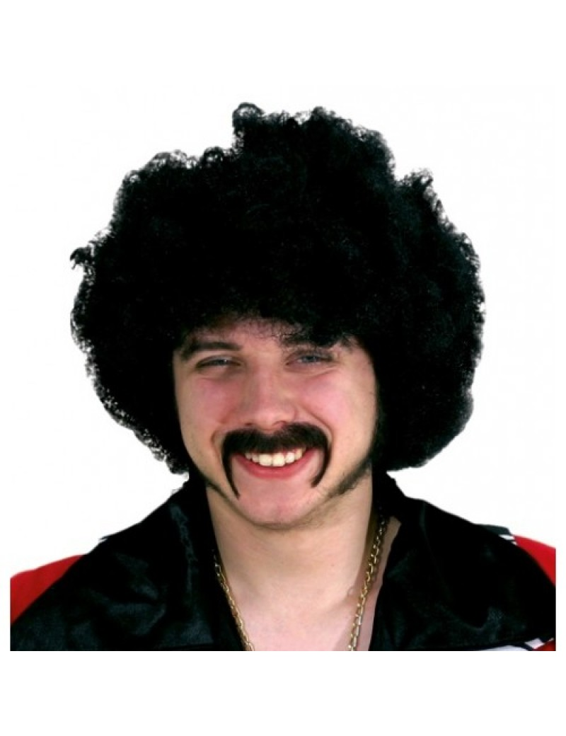 70s style pimp real hair mens professional stage theatrical moustache Metamorph