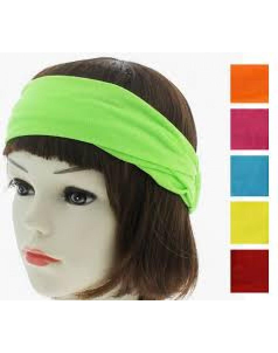 447e2e03bdee Headband-neon-80s- scarf-headwear-fancy-dress-adults-kids-festival ...