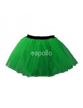 80s ra ra net tutu dark green  kids fairy skirt  E apollo 23171