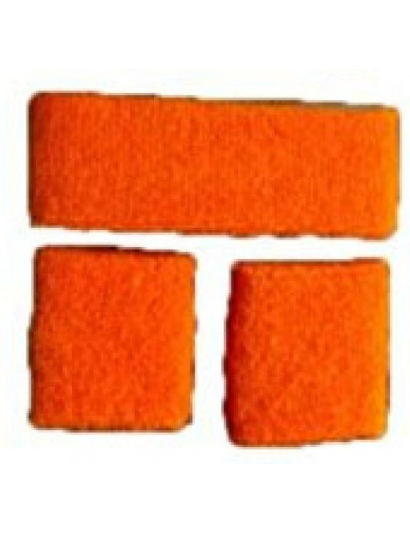 Sweatband set Neon Orange  64190