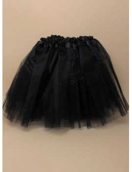 80s net ra ra skirt tutu black ladies fairy  Costume party 52020