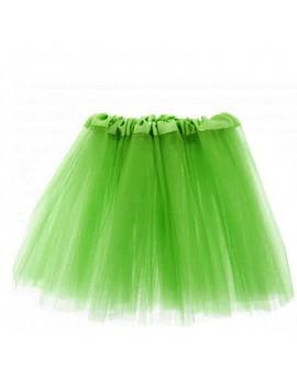 80s ra ra net tutu neon green Tinkerbell fairy skirt  52019