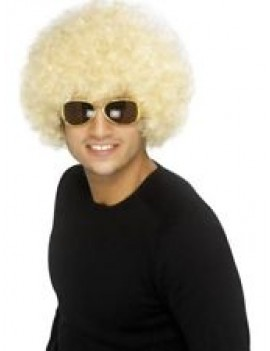 Afro Wig Blonde Smiffys 42018