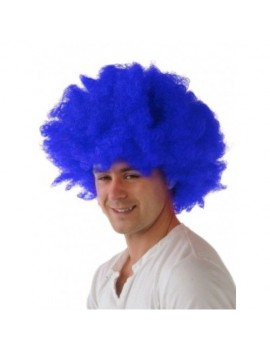 Afro wig blue Creative Collection A6004-BL