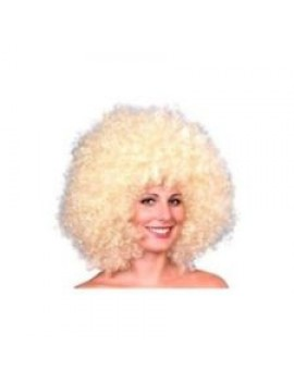 Afro wig blonde Smiffys 98402