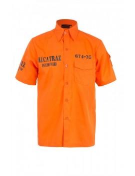 Alcatraz orange costume psycho ward shirt Jawbreaker Clothing