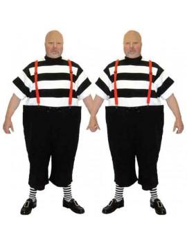 Alice In Wonderland Tweedle Dee Tweedle Dum tv film character hire deluxe rental costume BX9 BX10
