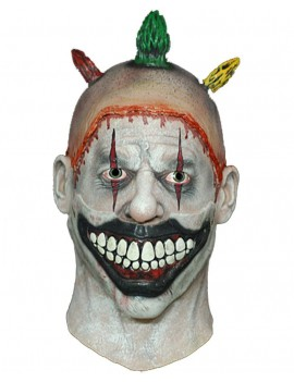 American Horror Story Twisty The Clown fancy dress Halloween costume party mens mask Trick Or Treat Studios 1802C