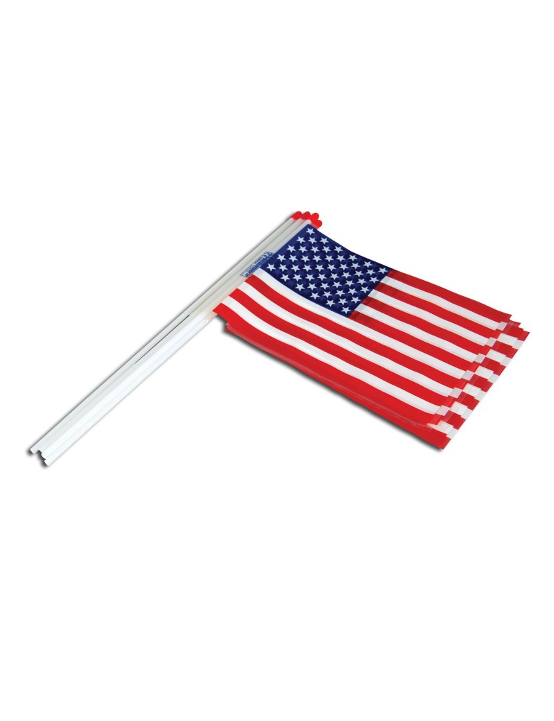 American stars and stripes plastic hand waver flag