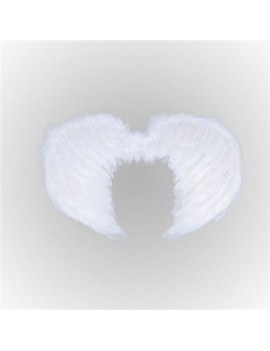 Angel wings feather white Bristol Novelty BA1098