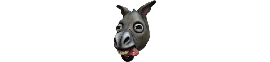 Animal Rubber Masks