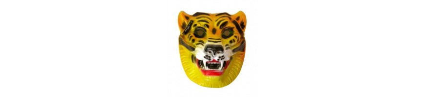 Animals Plastic Masks