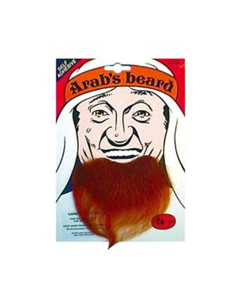 Arab Goatee Beard Dark Brown Bristol Novelty MB039