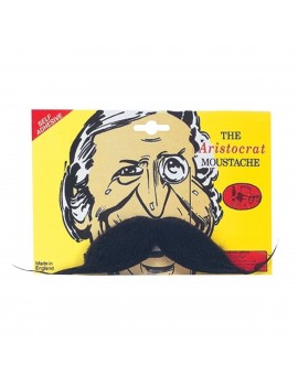 Aristocrat Moustache Black