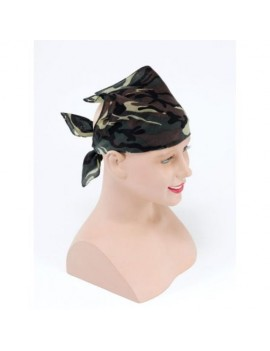 Army camouflage adults kids fancy dress bandana scarf Bristol Novelty BA236